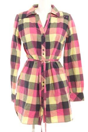 Roxy Robe chemise motif à carreaux style décontracté