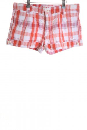 Roxy Hot Pants check pattern casual look