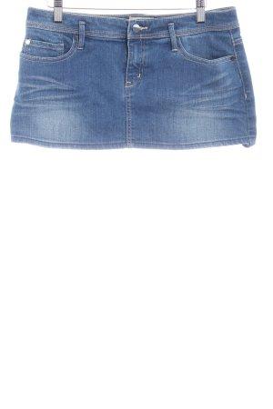 Roxy Jeansrock stahlblau Street-Fashion-Look