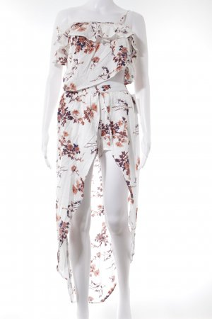 Roxy Jersey twin set bloemenprint Beach-look