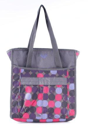 Roxy Jute tas gestippeld patroon casual uitstraling