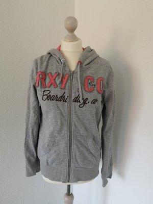 Roxy Kapuzenjacke grau Gr. M 38 40 Sweatjacke Hoodie