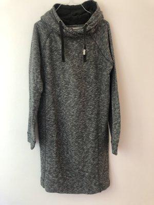 Roxy Hooded Dress light grey-grey