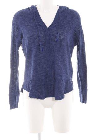 Roxy Kapuzenpullover blau meliert Casual-Look