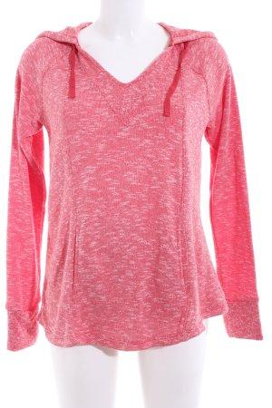 Roxy Maglione con cappuccio rosa puntinato stile casual