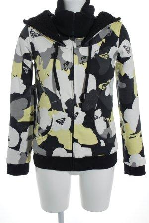 Roxy Jersey con capucha Mezcla de patrones estilo deportivo