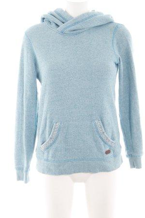 Roxy Kapuzensweatshirt blau meliert Casual-Look