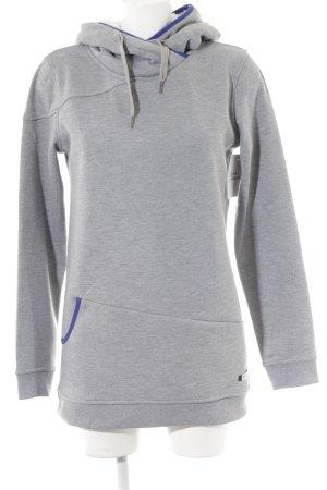 Roxy Kapuzensweatshirt hellgrau-dunkelviolett Casual-Look