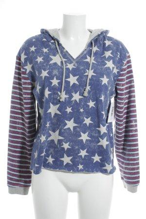 Roxy Kapuzensweatshirt Sternenmuster Urban-Look