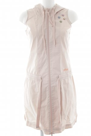 Roxy Capuchon vest stoffig roze casual uitstraling