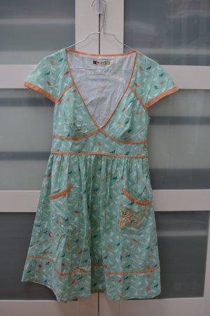 ROXY - Kleid in Frühjahrsfarben - Größe 36