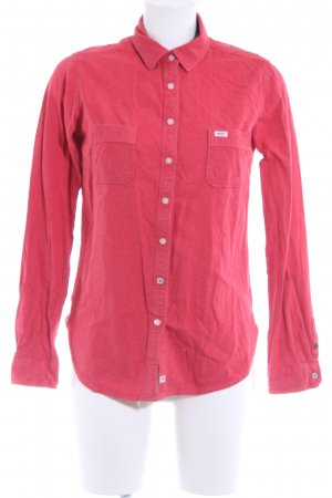Roxy Camisa de manga larga rojo look casual