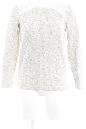 Roxy Lange jumper licht beige gestippeld casual uitstraling