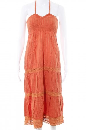 Roxy Maxikleid dunkelorange Beach-Look