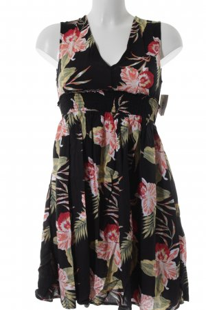 Roxy Minikleid Blumenmuster Beach-Look
