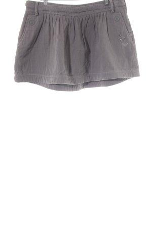 Roxy Minirock grau Casual-Look