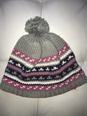 Roxy Knitted Hat silver-colored