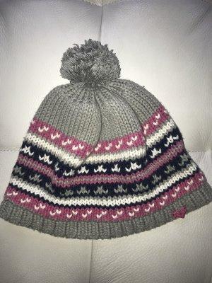 Roxy Chapeau en tricot argenté