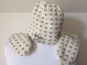 Roxy Cap white-gold-colored