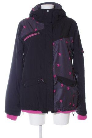 Roxy Outdoorjacke schwarz-pink Casual-Look