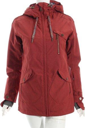 Roxy Outdoorjacke bordeauxrot-dunkelblau sportlicher Stil