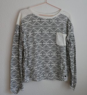 Roxy Sweater wit-leigrijs