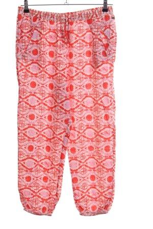Roxy Pumphose abstraktes Muster Casual-Look