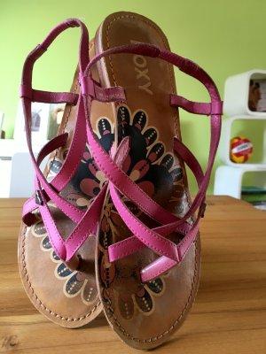 Roxy Riemchen-Sandalen rosa