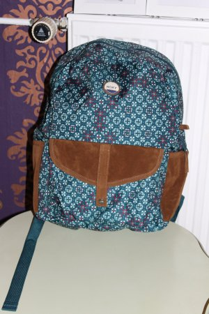 Roxy Backpack petrol polyester