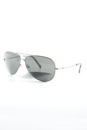 Roxy runde Sonnenbrille silberfarben Casual-Look