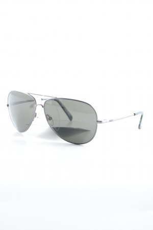 Roxy Lunettes de soleil rondes argenté style décontracté