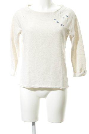Roxy Kraagloze sweater room-staalblauw prints met een thema casual uitstraling