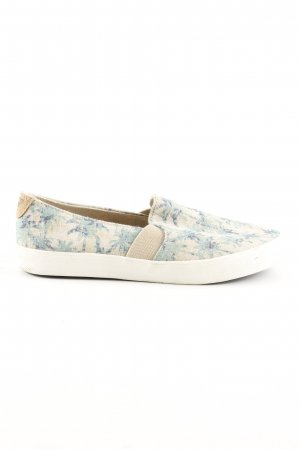 Roxy Slip-on Shoes allover print casual look