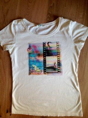 Roxy Shirt Surf mit Aufdruck Gr. S