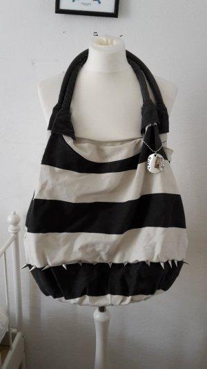 Roxy Shopper große Uni Tasche Beach Bag Killer Nieten Streifen