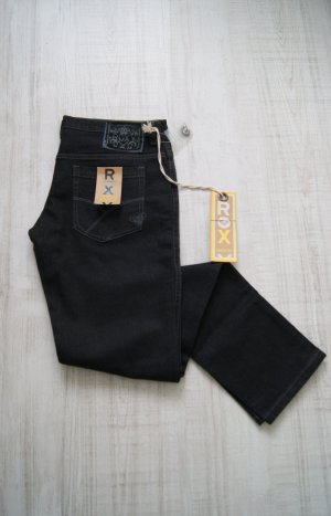 ROXY Skinny Fit Easy Skin Denim Black, schwarz, W29/L32, NEU