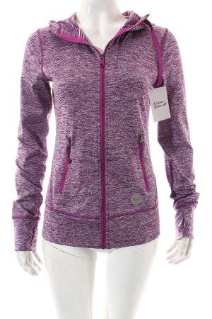 Roxy Sportjacke violett-lila meliert sportlicher Stil