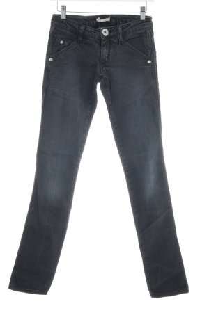 Roxy Straight-Leg Jeans dunkelgrau Casual-Look