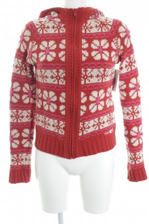 Roxy Cardigan white-red casual look