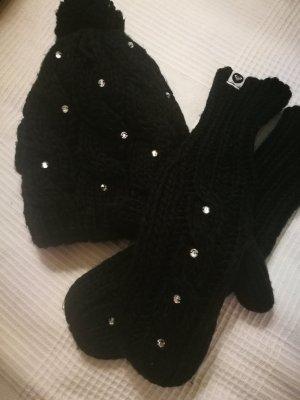 "ROXY Strickmütze & Handschuhe ""Shooting Star"" - NP:60,-€"