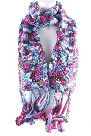 Roxy Sciarpa lavorata a maglia multicolore stile casual