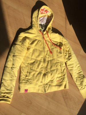 Roxy Veste sweat jaune