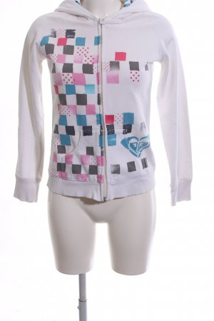 Roxy Sweatjacke grafisches Muster Casual-Look