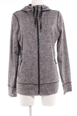 Roxy Sweatjacke grau-hellgrau meliert sportlicher Stil