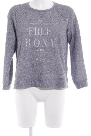 Roxy Sweatshirt grau meliert Casual-Look
