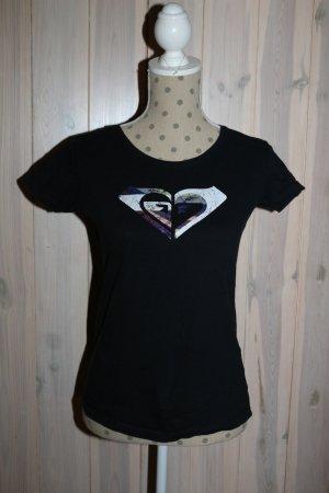 Roxy T- Shirt Gr. S, schwarz, Casual