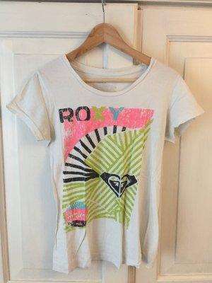ROXY T-Shirt mit knalligem NEON Print