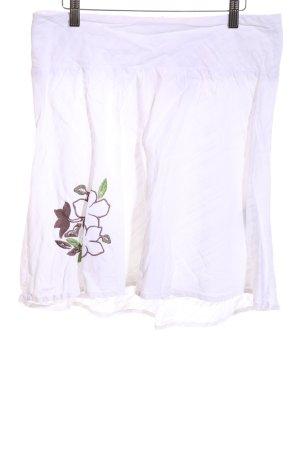 Roxy Jupe corolle motif de fleur style décontracté