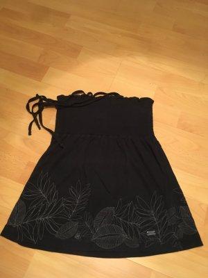 Roxy Top XS/S schwarz mit Blumenmuster