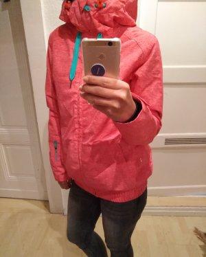Roxy Valley Hoodie Jacket Damen Snowboard-und Skijacke Coral XS